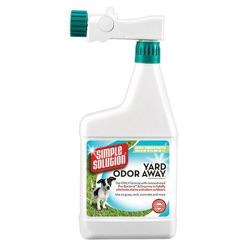 SIMPLE SOLUTION- Средство для мгновенной нейтрализации запахов фекалий и мочи собак на приусадебных участках