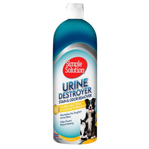 SIMPLE SOLUTION- Средство для нейтрализации запахов и удаления пятен от мочи животных