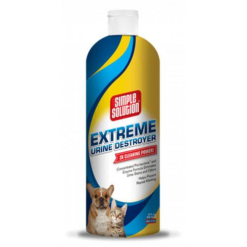 SIMPLE SOLUTION- Сверхмощное средство для нейтрализации запахов и удаления пятен мочи домашних животных