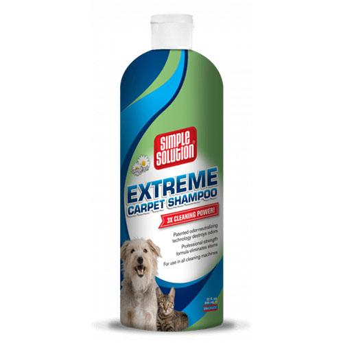 SIMPLE SOLUTION- Сверхмощный шампунь для удаления из ковров запахов и пятен от жизнедеятельности животных