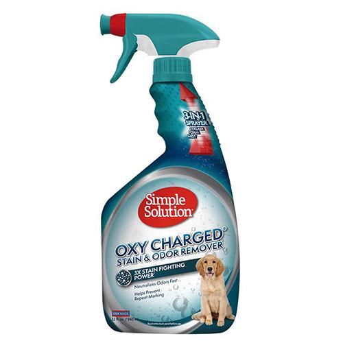 SIMPLE SOLUTION- Насыщенное кислородом средство для нейтрализации запахов и удаления пятен от жизнедеятельности животных