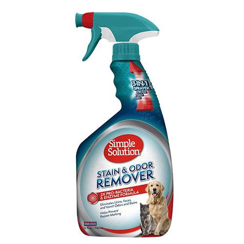 SIMPLE SOLUTION- Универсальное средство для нейтрализации запахов и удаления пятен от жизнедеятельности животных
