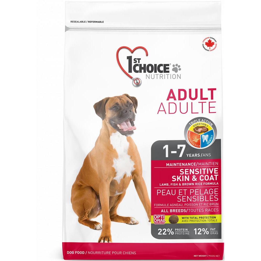 1st Choice Adult All breed - Фест Чойс Корм для дорослих собак всіх порід з ягням і рибою