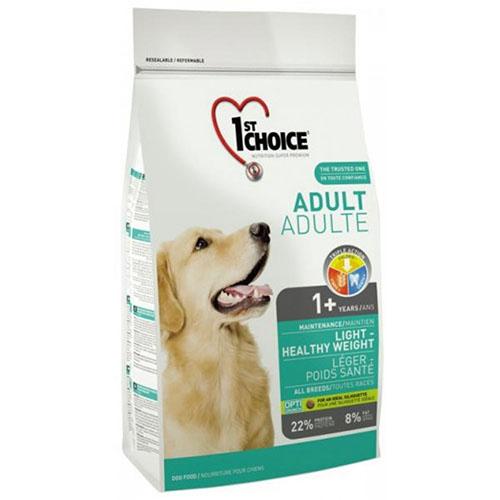 1st Choice Adult Light - Фест Чойс Корм для собак старше 1 року з надмірною вагою з качкою і картоплею