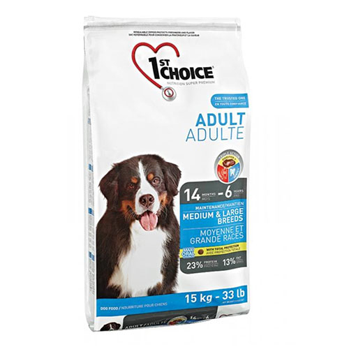1st Choice Adult Medium & Large Breeds - Фест Чойс Корм для взрослых собак средних и крупных пород с курицей
