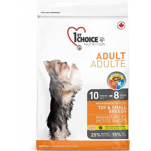 1st Choice Adult Toy and Small breed - Фест Чойс Корм для дорослих собак міні і малих порід з куркою