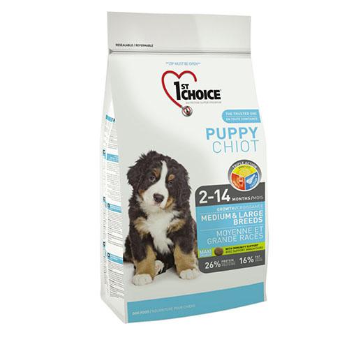 1st Choice Puppy Medium and Large breed - Фест Чойс Корм для цуценят середніх і великих порід з куркою