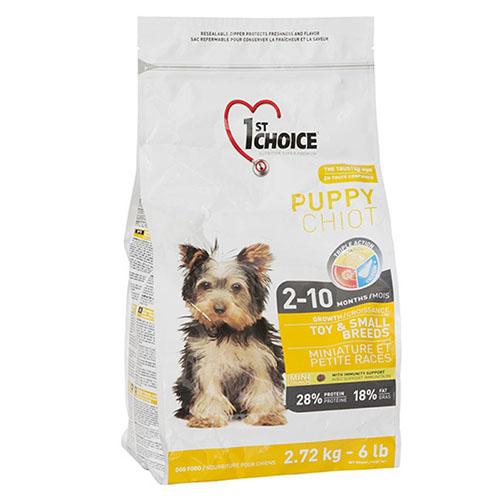1st Choice Puppy Toy and Small breeds - Фест Чойс Корм для цуценят міні та малих порід з куркою