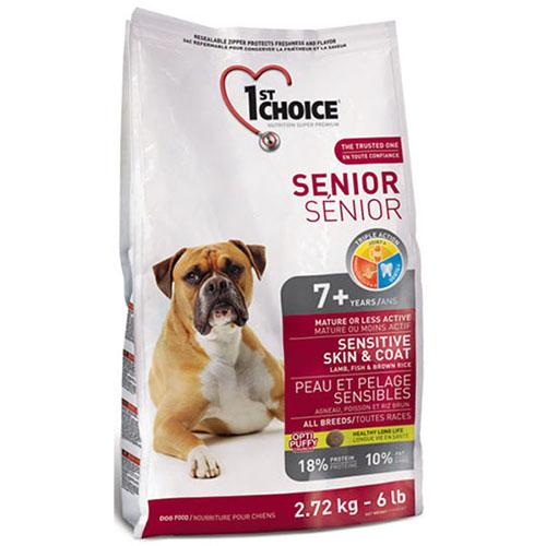 1st Choice Senior All breed - Фест Чойс Корм для собак всіх порід старше 7 років з ягням і рибою