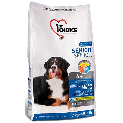 1st Choice Senior Medium and Large breed - Фест Чойс Корм для собак середніх і великих порід старше 6 років з куркою