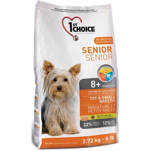 1st Choice Seniors Toy & Small Breeds - Фест Чойс корм для собак мини и малых пород старше 8 лет