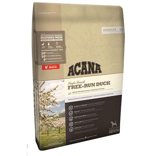 Acana Singles Free-Run Duck - Корм Акана для собак всіх порід і вікових груп