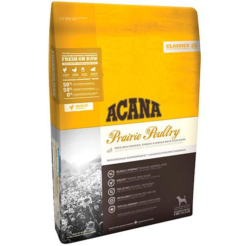 ACANA Prairie Poultry Корм для собак всіх порід і вікових груп, з курчам і індичкою - АКАНА Прерія Палтрі
