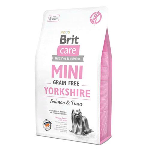Brit Care Mini Yorkshire - Беззерновой корм с лососем и тунцом для йоркширских терьеров