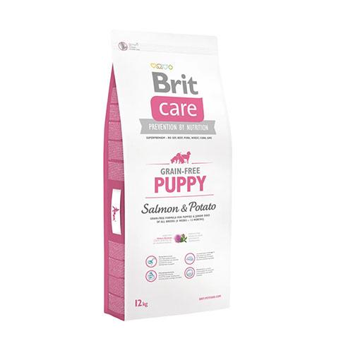 Brit Care Puppy Salmon and Potato - Беззерновой корм для щенков с лососем и картофелем