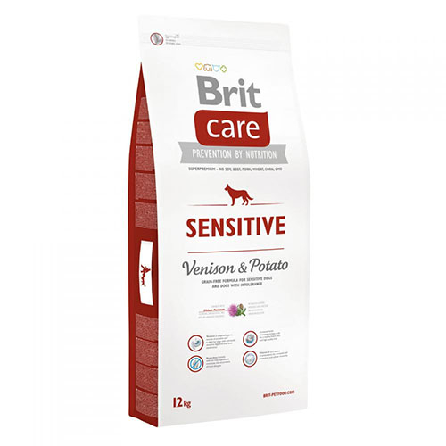 Brit Care Sensitive Venison & Potato - Корм для взрослых собак с чувствительным пищеварением с олениной и картофелем