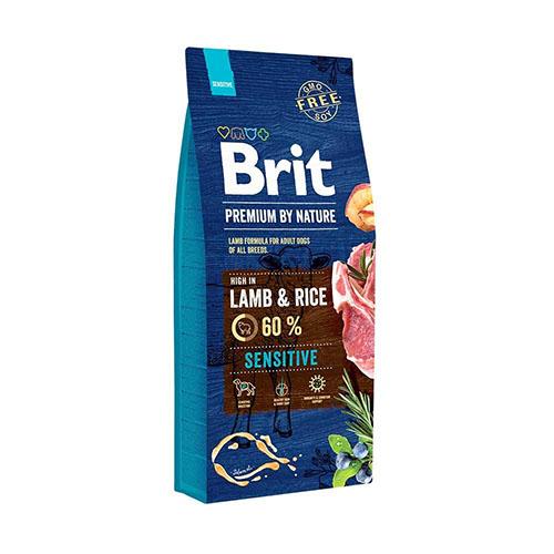 Brit Premium Adult Sensitive Lamb & Riсe - Сухой корм для взрослых собак с ягненком и рисом