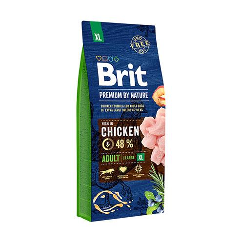 Brit Premium Adult XL Chicken - Сухой корм для взрослых собак гигантских пород
