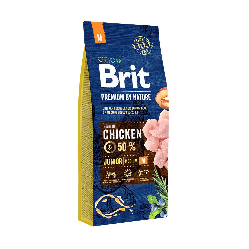 Brit Premium Junior Medium - Сухой корм для щенков средних пород