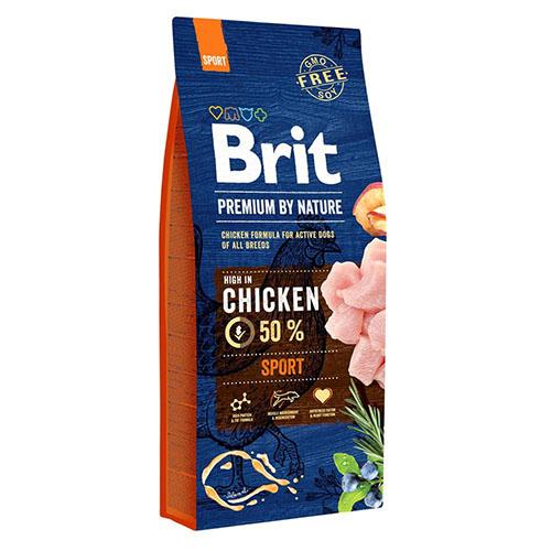 Brit Premium Sport Сухой - Корм для собак с высокой активностью