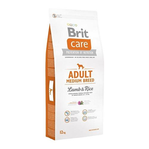 Brit Care Adult Medium Breed Lamb & Rice - Корм для взрослых собак средних пород с ягненком и рисом