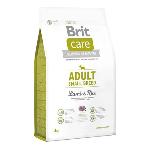 Brit Care Adult Small Breed Lamb & Rice - Корм для взрослых собак мелких пород с ягненком и рисом