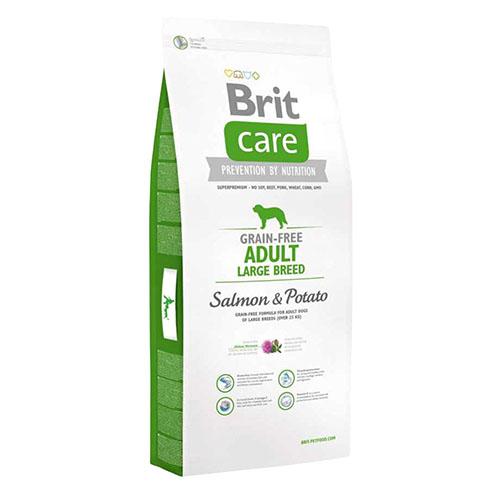 Brit Care Adult Large Breed Salmon & Potate - Беззерновой корм для собак крупных пород с лососем и картофелем