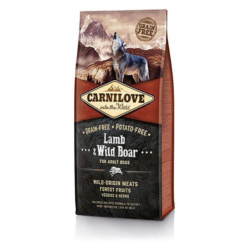 Carnilove Lamb & Wild Boar Сухой корм для взрослых собак с ягненком и диким кабаном