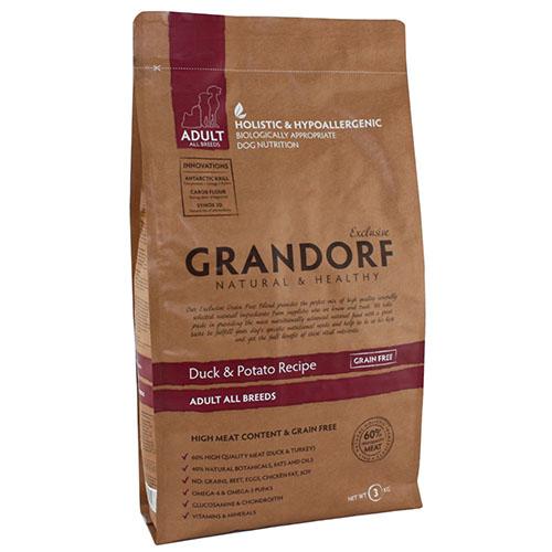 Grandorf Duck & Potato Adult All Breed Сухой корм для взрослых собак Утка с картофелем