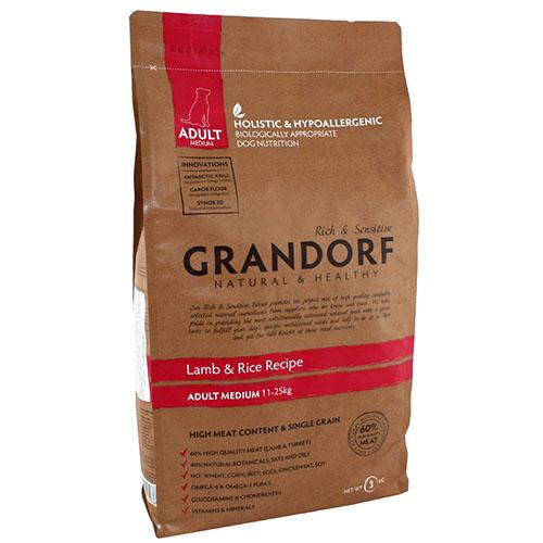 Grandorf Lamb & Rice Adult Medium Сухой корм для взрослых собак средних пород