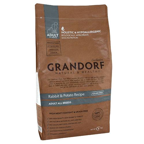 Grandorf Rabbit & Potato Adult All Breed Сухой корм для взрослых собак Кролик с картофелем