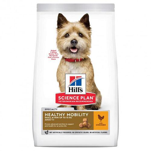 Hills SP Canine Adult Small & Miniature Healthy Mobility корм с курицей для здоровья суставов у малых пород