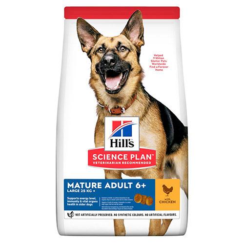 Hills SP Canine Mature Adult 6+ Large breed корм с курицей для зрелых и пожилых собак крупных пород