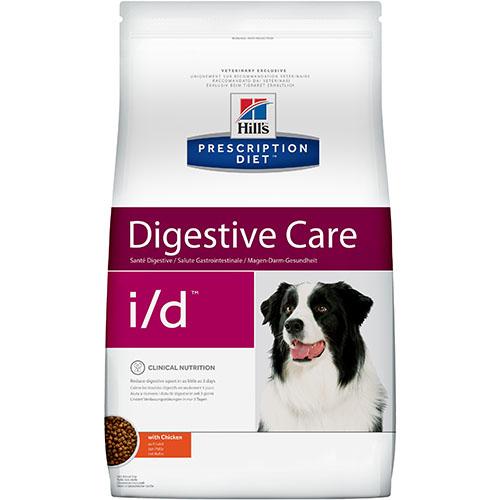 Hills Prescription Diet i/d Лечебный диетический корм для собак  при заболеваниях желудочно - кишечного тракта