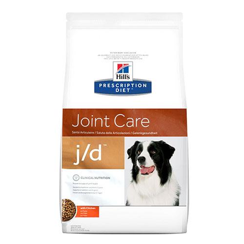 Hills Prescription Diet j/d Лечебный корм для собак при профилактике и лечении артритов, снижение боли