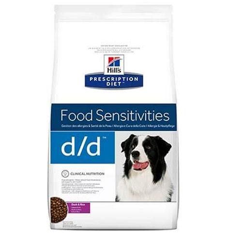 Hills Prescription Diet Canine d / d Лікувальний дієтичний корм для собак, схильних до харчових алергічних реакцій або з непереносимістю компонентів їжі з качкою і рисом