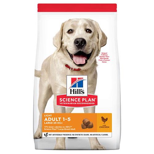 Hills Хилс Canine Adult Light Корм для собак гигантских и больших пород, склонных к лишнему весу