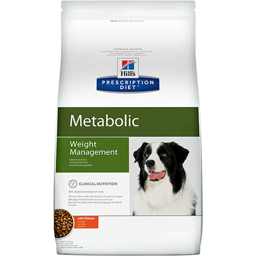 Hills Prescription Diet Metabolic Лечебный корм для собак при избыточном весе