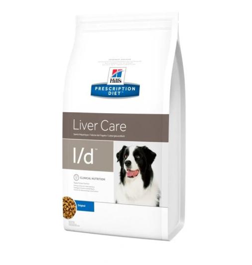 Hills Prescription Diet l/d Лечебный корм для собак при заболеваниях печени