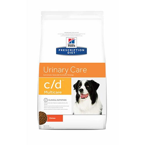 Hills Prescription Diet c/d Лечебный корм для собак - профилактика и лечения мочекаменной болезни