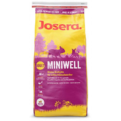 Josera Dog Miniwell - Йозера Минивель корм для взрослых собак мелких пород
