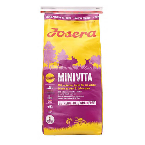 Josera MiniVita - Йозера МиниВита беззерновой корм для пожилых собак мелких пород