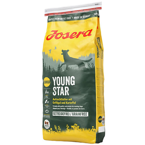 Josera Young Star - Йозера ЯнгСтар беззерновой корм для щенков и молодых собак