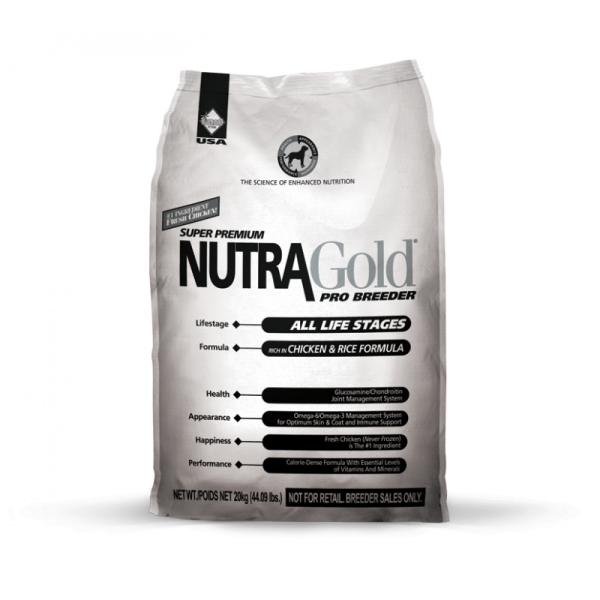 Nutra Gold Pro Breeder Сухой корм для собак на всех стадиях жизни