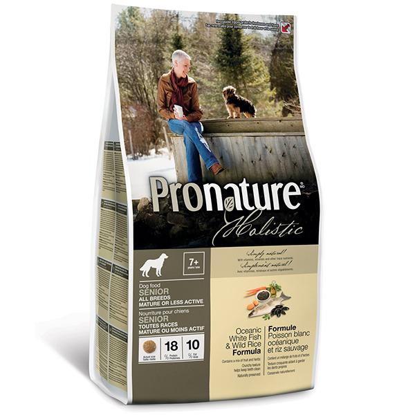 Pronature Holistic - Пронатюр холистик с океанической рыбой и диким рисом для собак