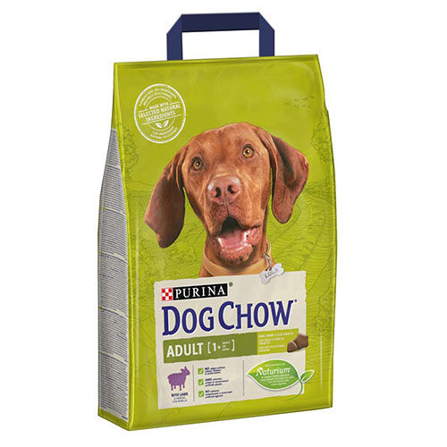 Purina DOG CHOW- Сухой корм для собак с ягнёнком