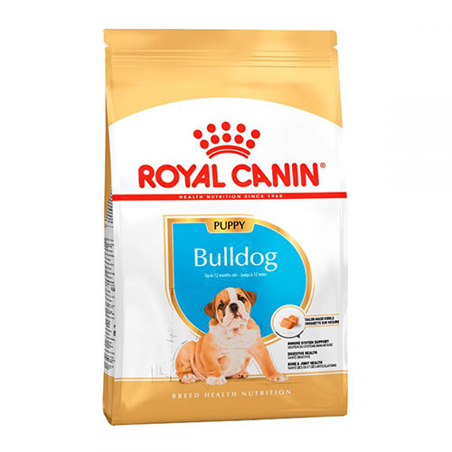Royal Canin Bulldog Junior - корм Роял Канин для щенков бульдога