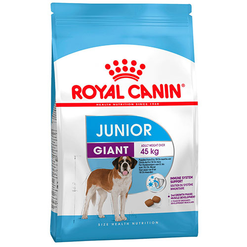 Royal Canin Giant Junior - корм Роял Канин для щенков гигантских пород