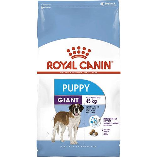 Royal Canin Giant Puppy - корм Роял Канин для щенков гигантов от 2 до 8 месяцев