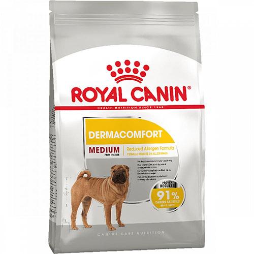 Royal Canin Medium Dermacomfort Сухой корм для собак средних пород с чувствительной кожей